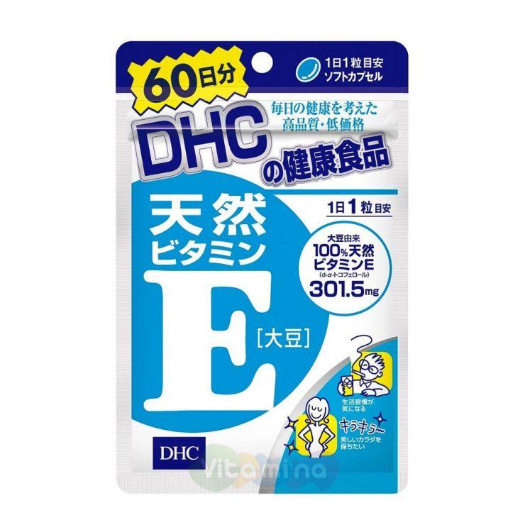 DHC Витамин Е, 60 дней