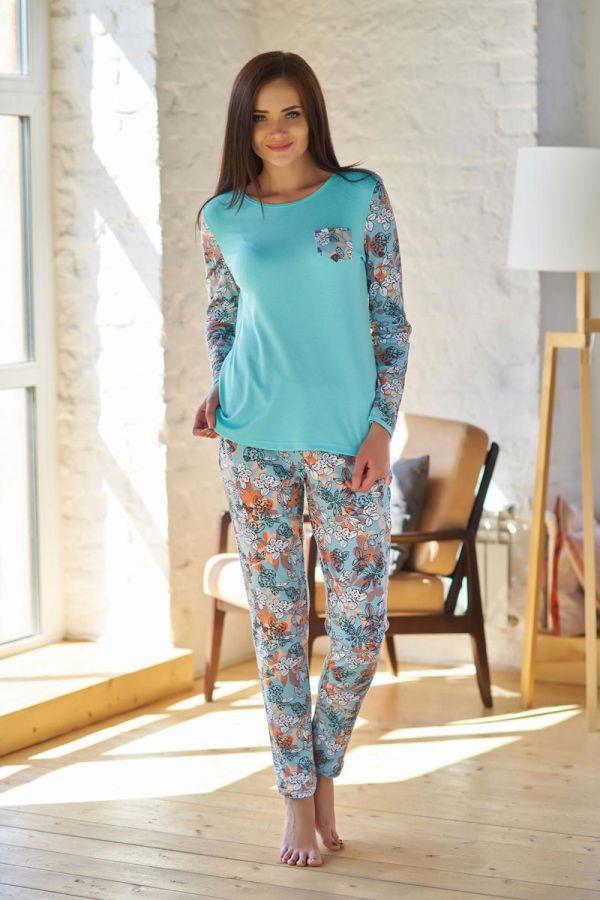 Костюм арт.0754 (блуза+брюки), интерлок