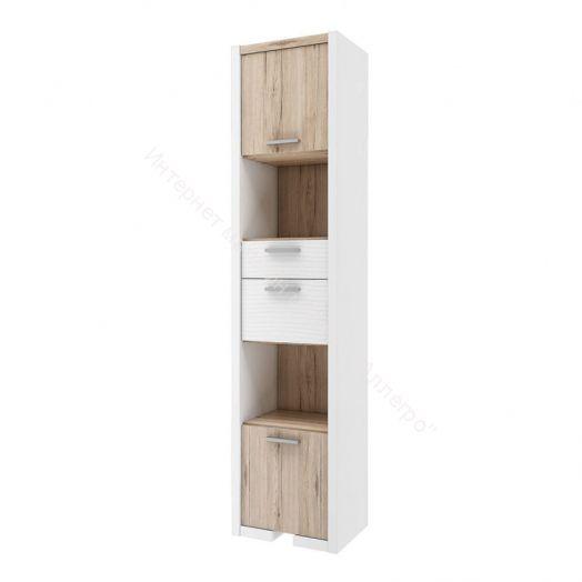 """Шкаф """"Венето"""" с 2-мя ящиками СТЛ.266.09 (Дуб санремо/Белый)"""