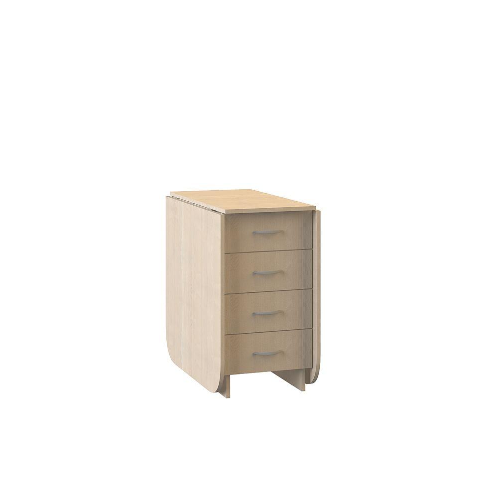 Стол-книжка с ящиками Глория 606
