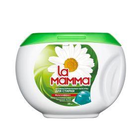 Капсулы La Mamma для стирки антибактериальные, 20шт