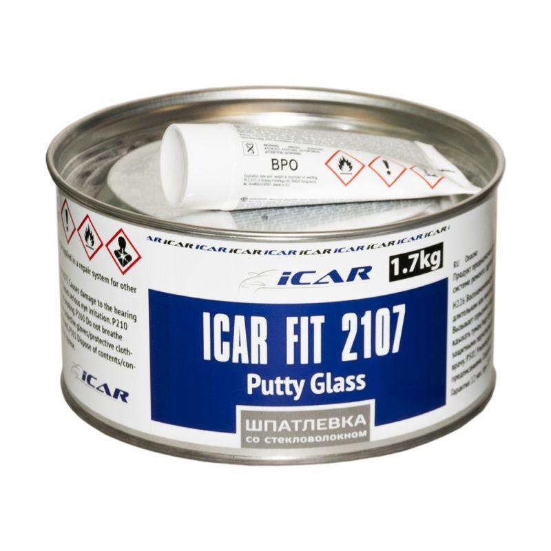 ICAR FIT I2107 Шпатлёвка полиэфирная со стекловолокном, 1,7кг.