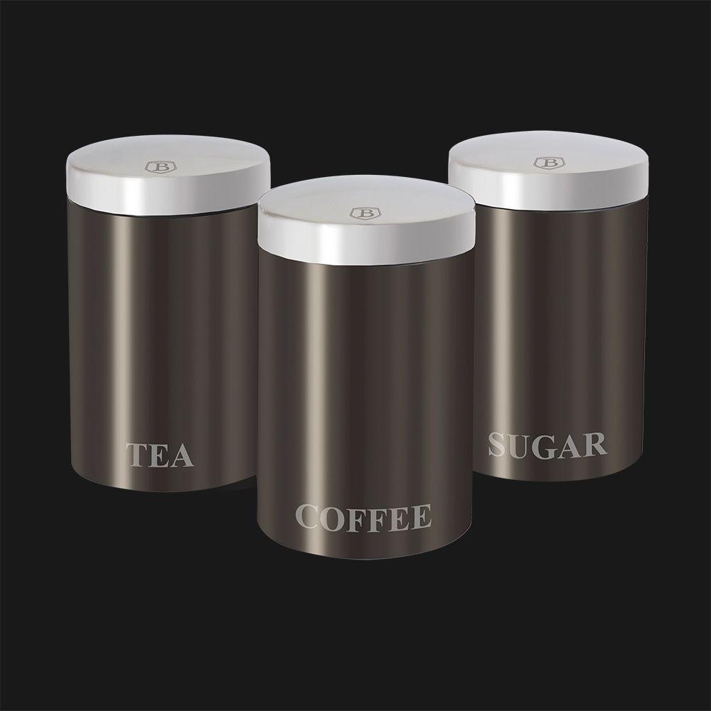 Набор контейнеров для хранения 3 пр. Berlinger Haus ВН-1348 Carbon Passion Collection