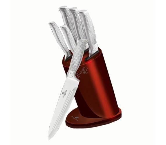 BH-2273 Набор кухонных ножей на подставке 6 пр.