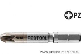 Бит FESTOOL Pozidriv PZ 3-50 CENTRO/2 205072