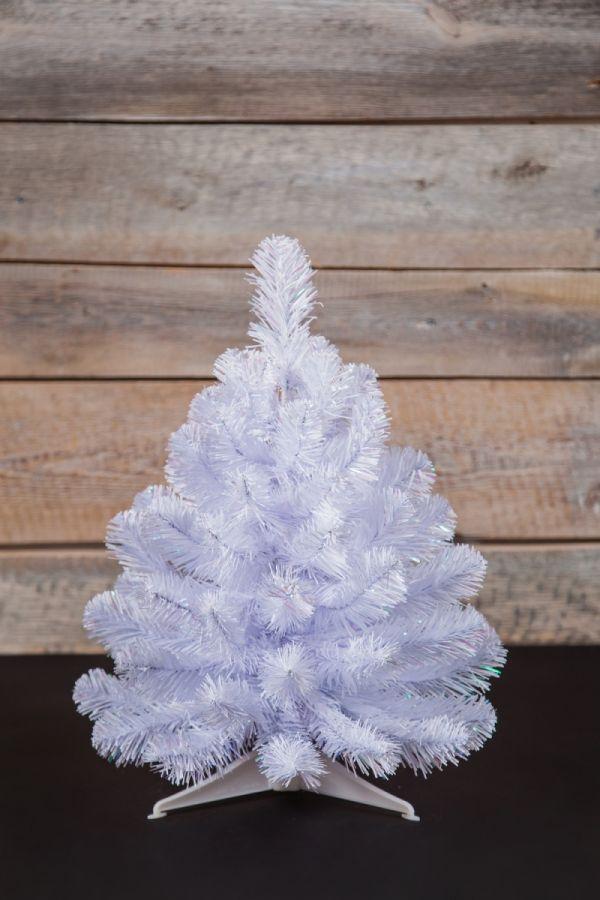Искусственная елка Исландская 45 см белоснежная