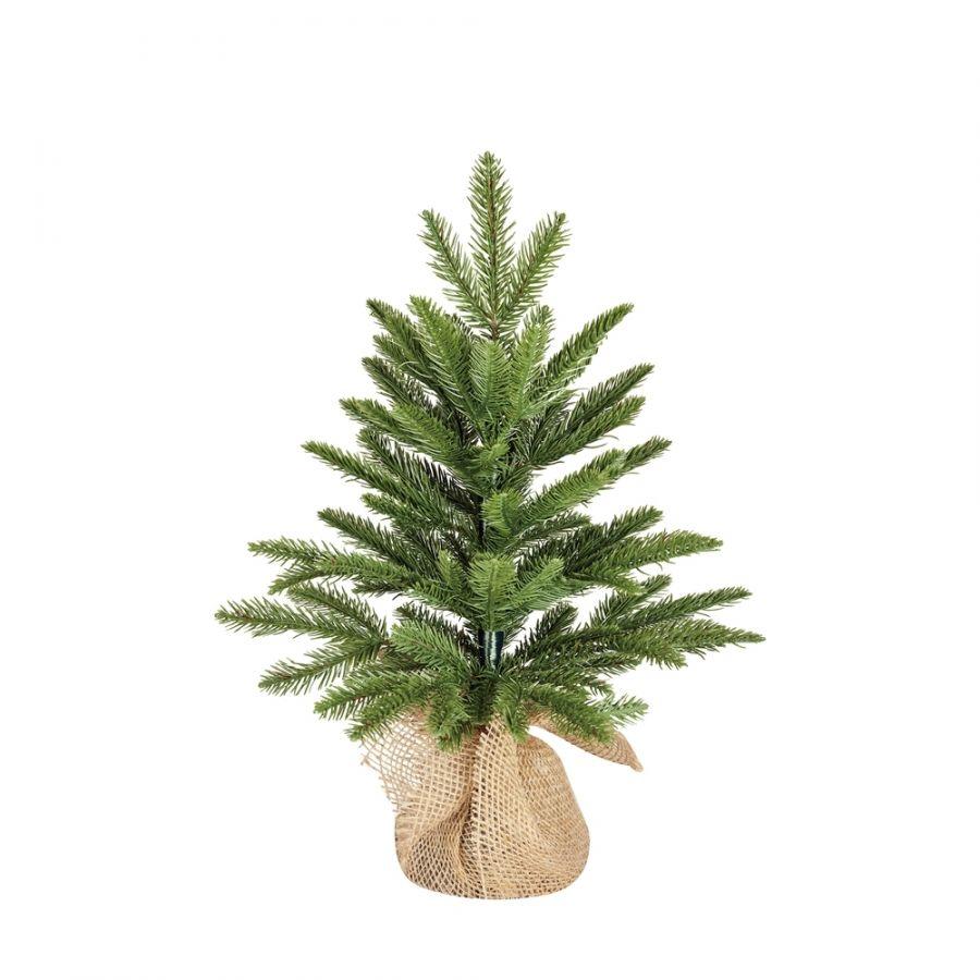 Искусственная елка Чемберлен 45 см в мешочке зеленая