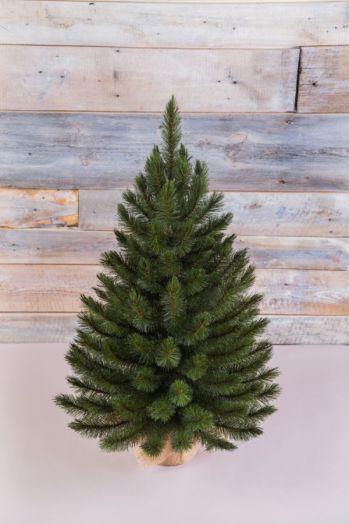 Искусственная елка Лесная Красавица 90 см в мешочке зеленая