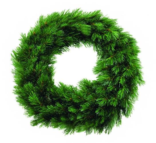Триумф венок Лесная Красавица диам. 90 см зеленая
