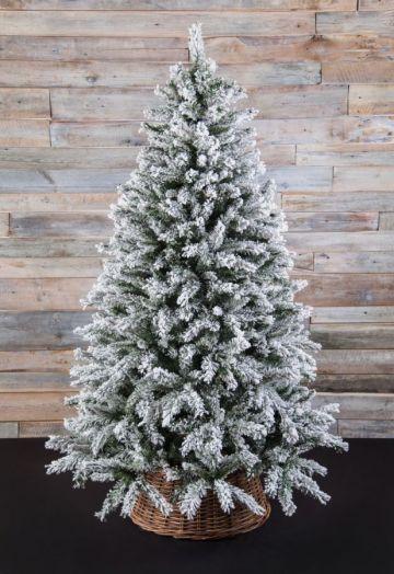 Искусственная елка Атлантида 155 см заснеженная