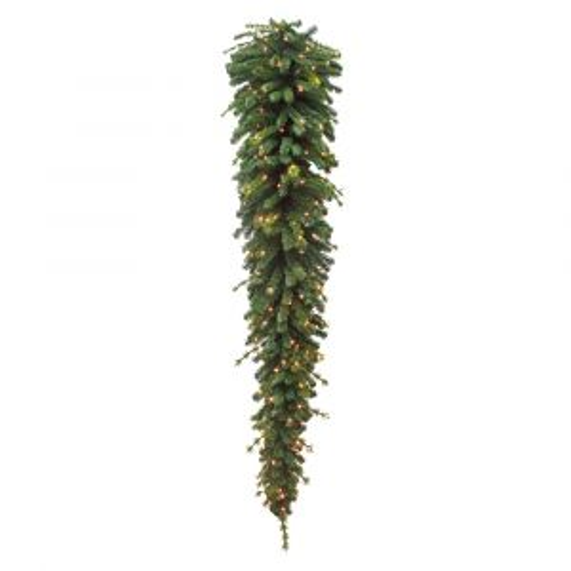 Триумф гирлянда капля 152 ламп 120 см зеленая