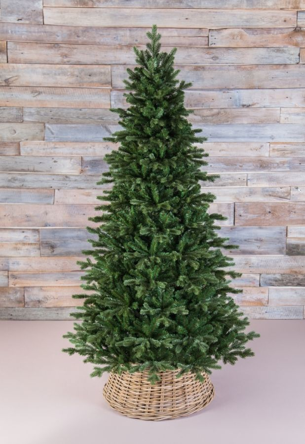 Искусственная елка Шервуд премиум стройная 155 см зеленая