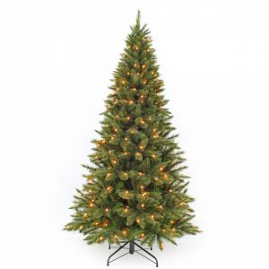 Искусственная елка Лесная Красавица стройная 120 см 88 ламп зеленая