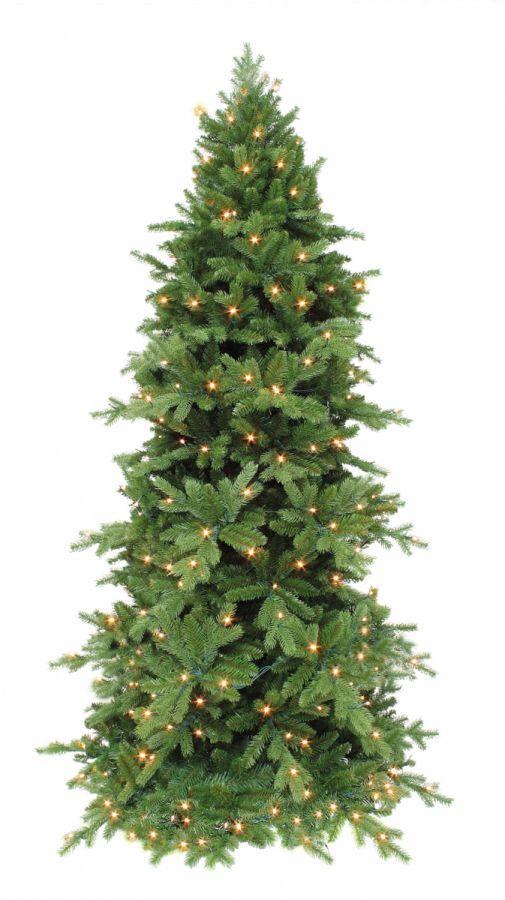 Искусственная сосна Изумрудная 120 см 88 ламп зеленая