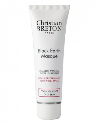 """Крем-маска с черной глиной """"Детокс"""", Christian Breton, 50 мл"""