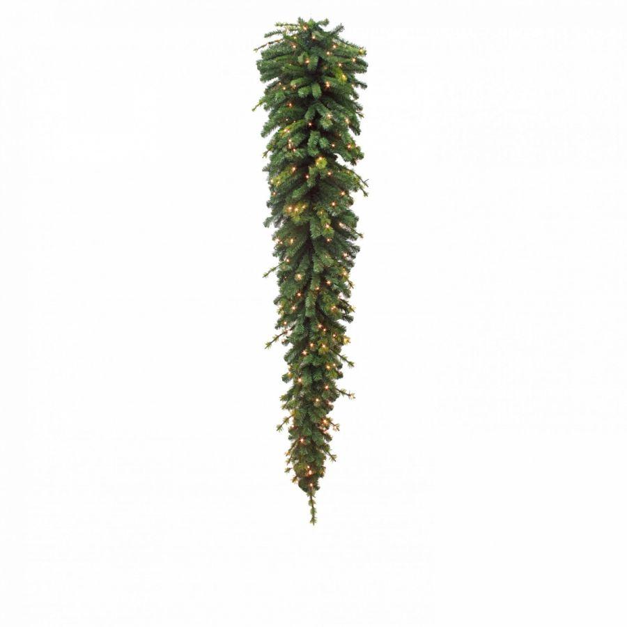 Триумф гирлянда капля 200 ламп 180 см зеленая