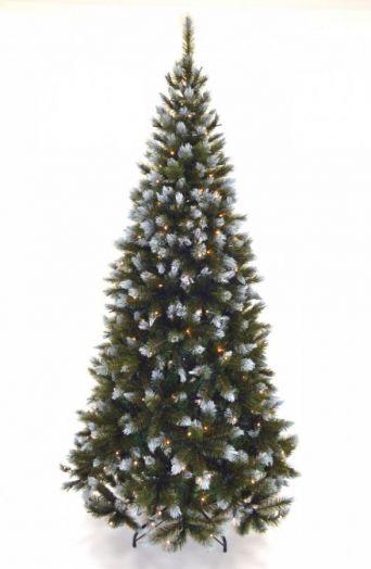 Искусственная елка Женева 185 см 152 лампы заснеженная
