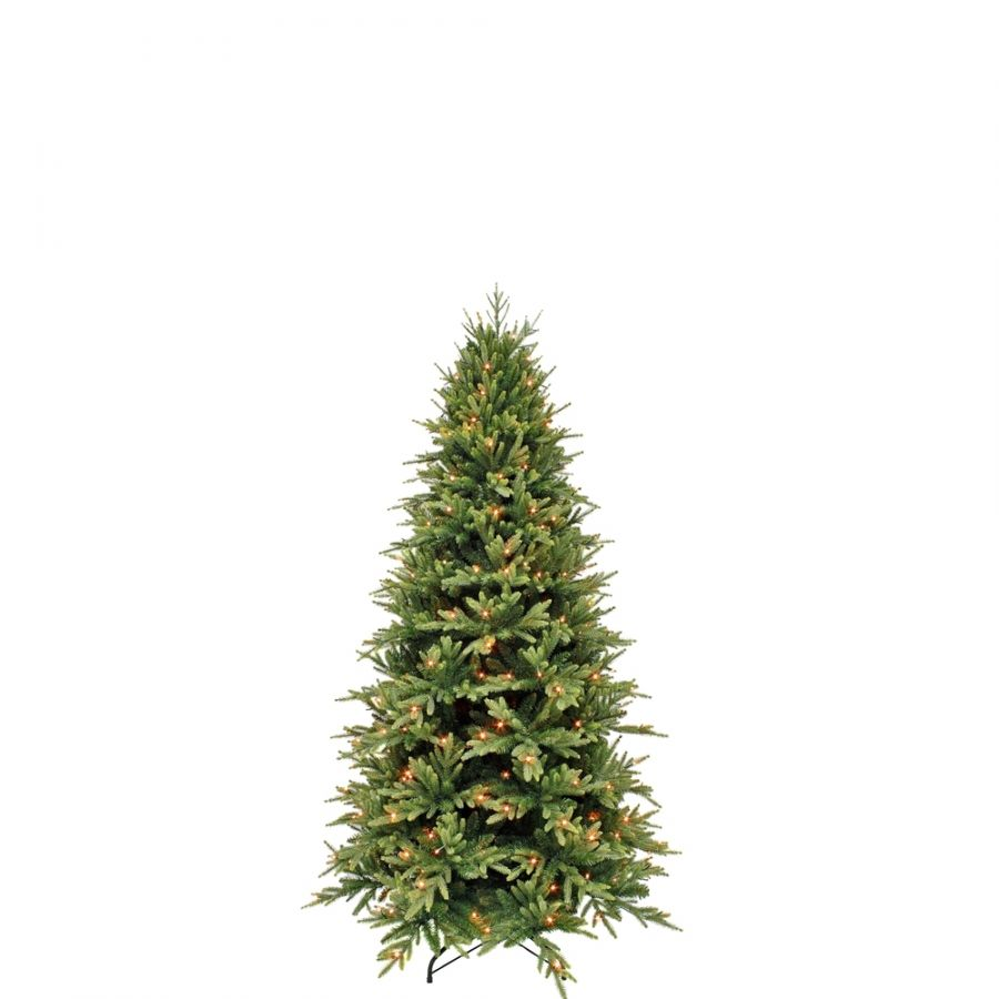 Искусственная елка Королевская стройная 155 см 128 ламп зеленая