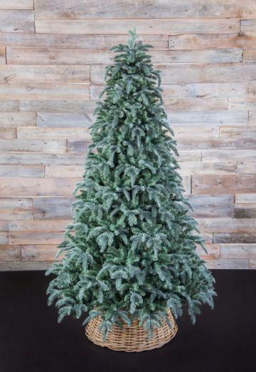Искусственная елка Нормандия пушистая 215 см голубая