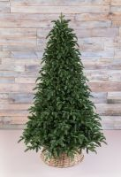 Искусственная елка Нормандия пушистая 215 см темно-зеленая