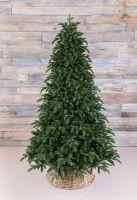 Искусственная елка Нормандия пушистая 230 см темно-зеленая