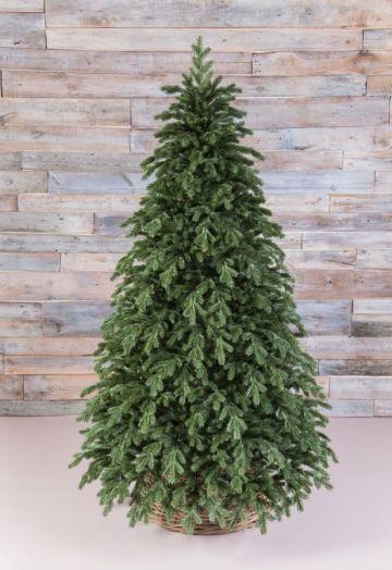 Искусственная елка Царская full РЕ 185 см зеленая