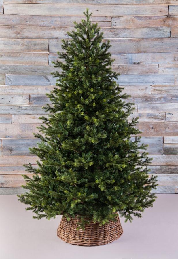 Искусственная елка Датская 215 см зеленая