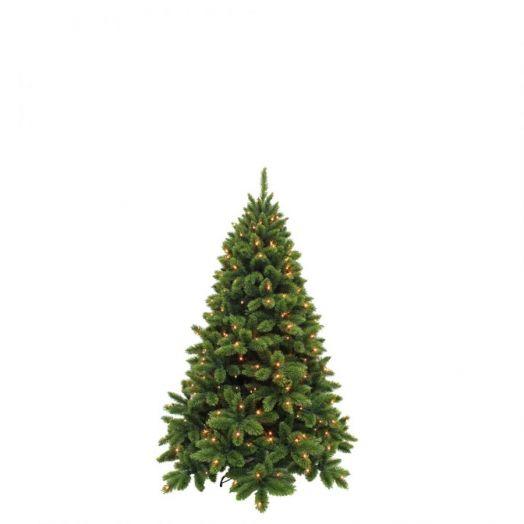 Искусственная елка Триумф де Люкс 215 см 264 ламп зеленая