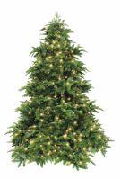 Искусственная елка Нормандия 185 см 248 ламп темно-зеленая