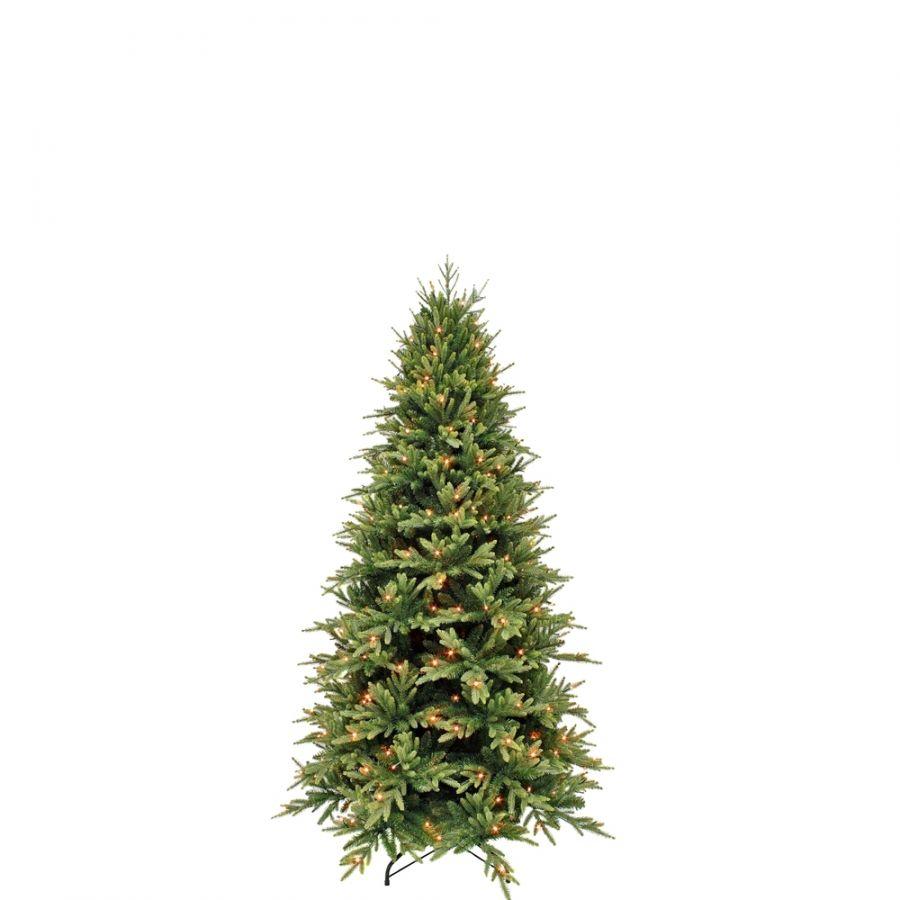 Искусственная елка Королевская стройная 230 см 304 ламп зеленая