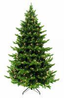 Искусственная елка Шервуд премиум 230 см 336 ламп зеленая