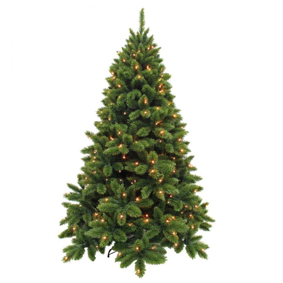 Искусственная елка Триумф де Люкс 260 см 416 ламп зеленая