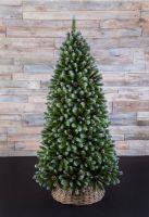Искусственная елка Императрица с шишками 365 см заснеженная