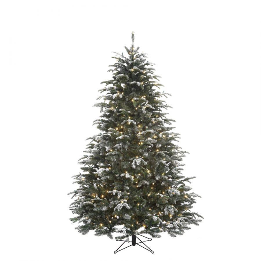 Искусственная елка Стильная 260 см 816 ламп заснеженная