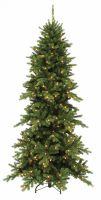 Искусственная сосна Изумрудная 365 см 648 ламп зеленая