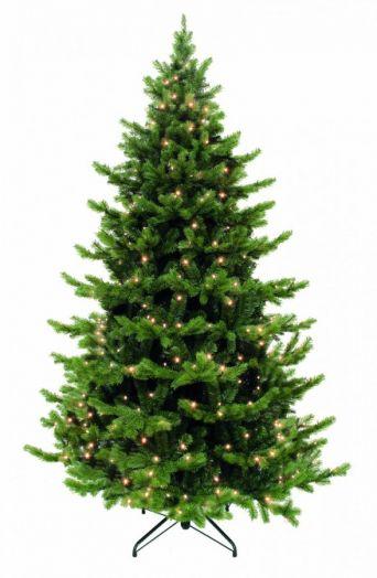 Искусственная елка Шервуд премиум 365 см 1224 лампы зеленая