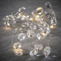 Гирлянда из кристаллов