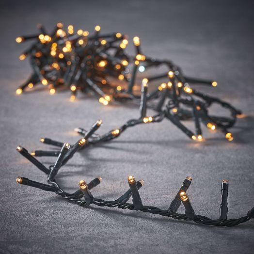 Гирлянда Snake light теплый свет, 8F, адаптор, для наружного и внутреннего использования
