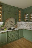 Кухня Milan Зеленый