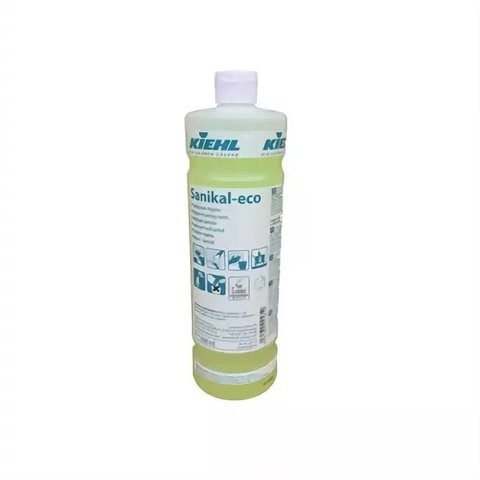 Sanikal-Eco Щелочное ср-во для ежедневной уборки санитарных помещений, 1 л