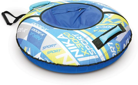 Надувная ватрушка Ника ТБ2К Спорт синий 95