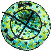 Тюбинг Стандарт 120 см Звезды зеленый