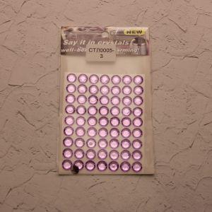 Стразы(бусины) клеевые на листе 8*10,5см (1уп = 5шт), Арт. СТЛ0005-3