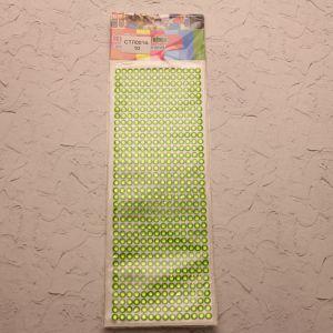 Стразы(бусины) клеевые на листе 9*25см (1уп = 5шт), Арт. СТЛ0014-10