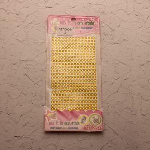 `Стразы(бусины) клеевые на листе 8,5*24,5см, Арт. Р-СТЛ0009-2