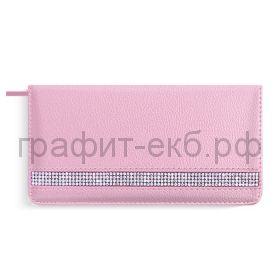 Еженедельник недат.170х86 Феникс+ НАППА розовый металлик 50205