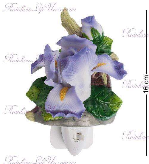 """Светильник цветок ирис """"Pavone"""""""
