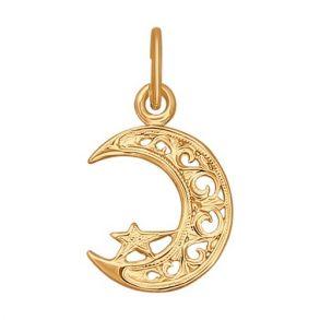 Подвеска мусульманская из золота 030051 SOKOLOV