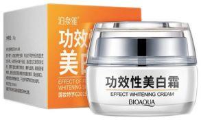 Отбеливающий крем для лица  Effect Whitening Cream с хризантемой и клюквой 30 г