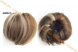 """Искусственные термостойкие волосы - Шиньон """"Бабетта"""" #6H613, вес 80 гр"""